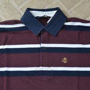 Brooks Brothers Boys Short Sleeve Polo Shirt New W